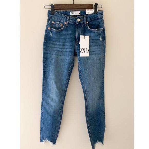 NWT Zara ZW Premium Skinny Jeans
